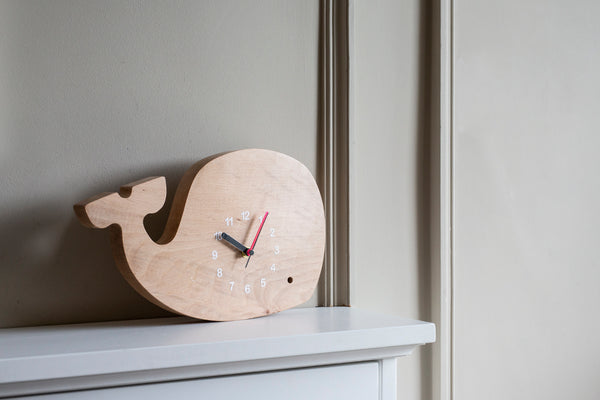Wally the Whale Clock