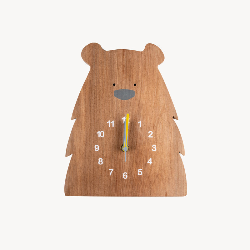 Grizzly Bear Clock