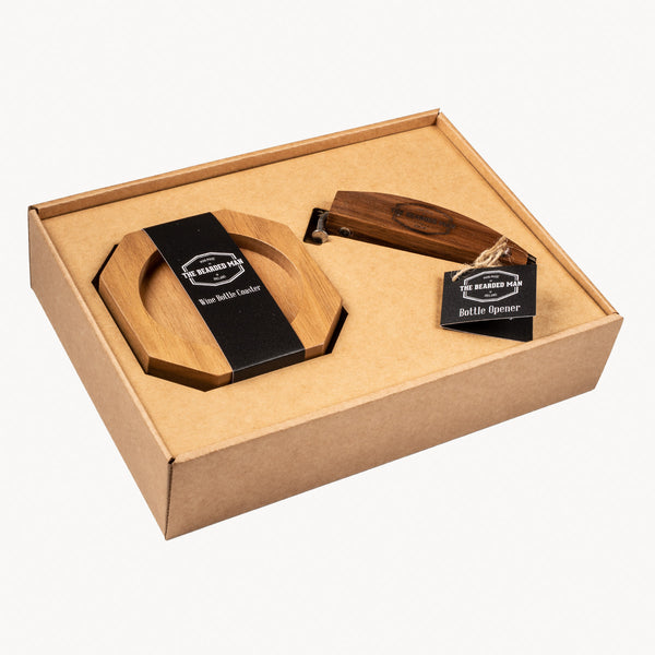 Wine & Bottle Gift Set