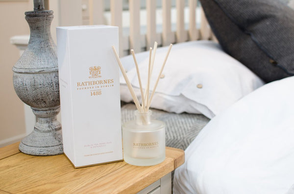 Dublin Tea Rose, Oud & Patchououli Reed Diffuser