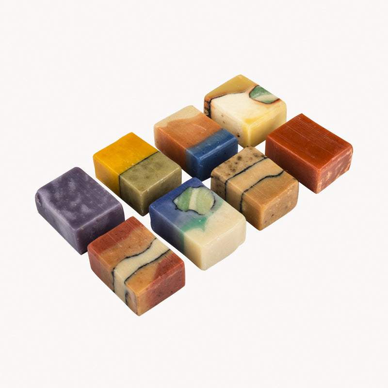 Gift Set - 8 Mini Soaps Small