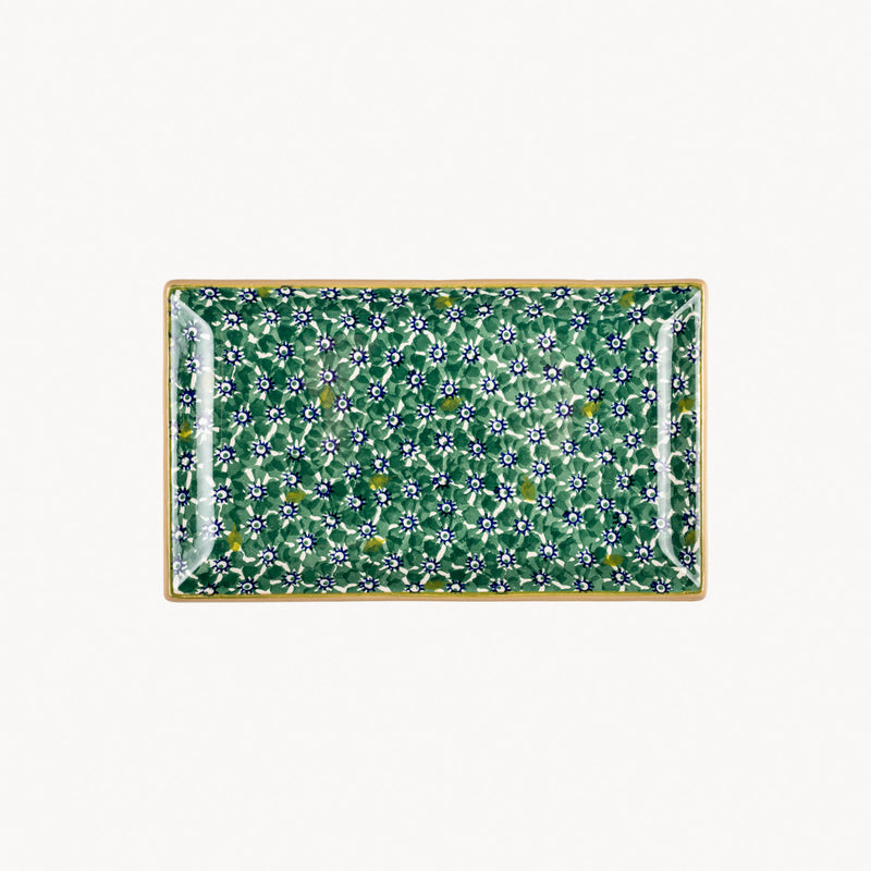 Rectangle Dish - Lawn Green