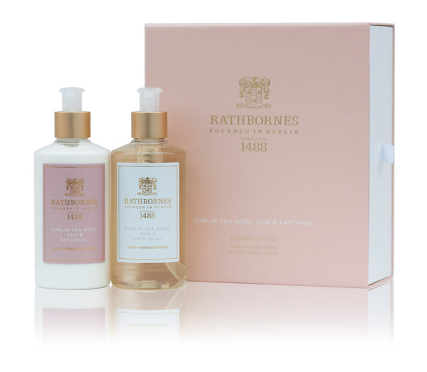 Dublin Tea Rose Wash & Lotion Gift Set