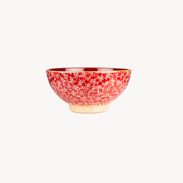 Vegetable Bowl - Lawn Red