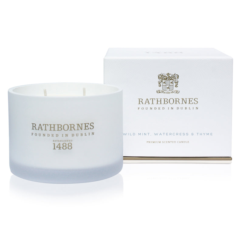 Wild Mint, Watercress & Thyme Classic Candle