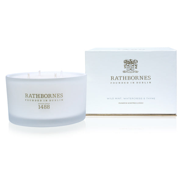 Wild Mint, Watercress & Thyme Luxury Candle