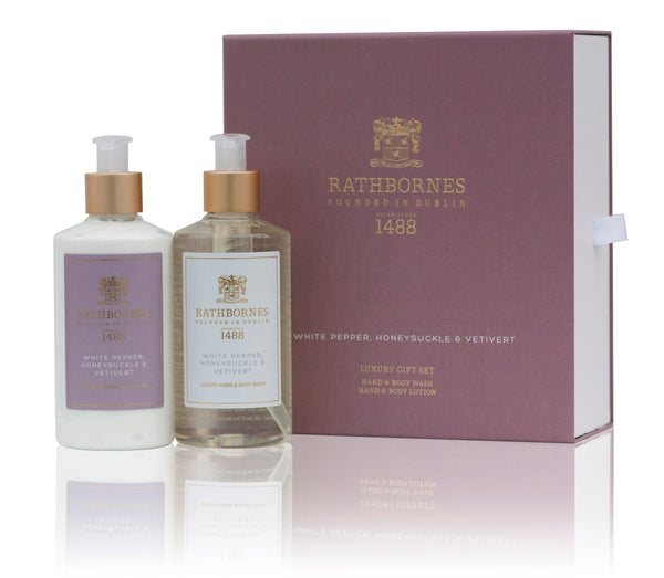 White Pepper Wash & Lotion Gift Set
