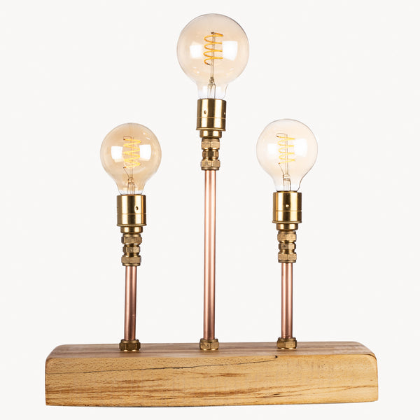 Three Pipe Table Lamp