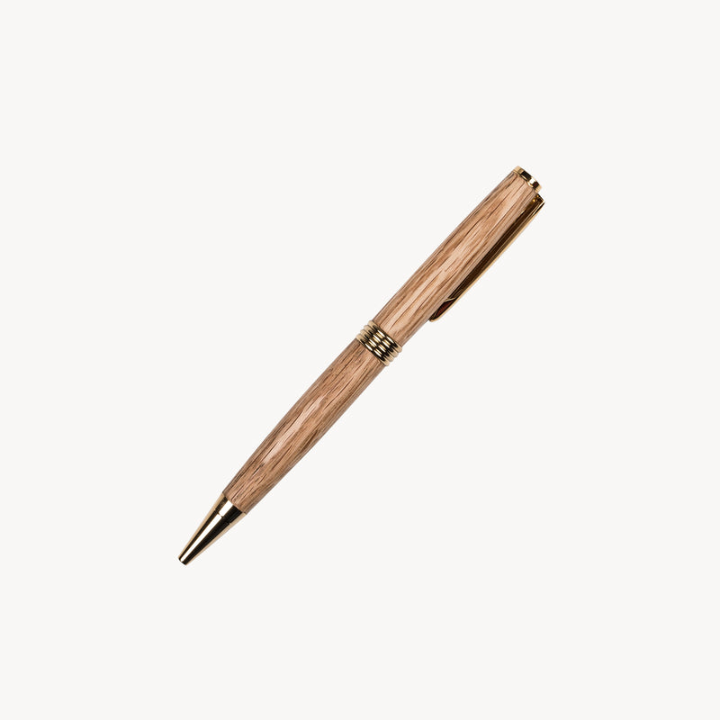 Irish Oak Streamline Pen