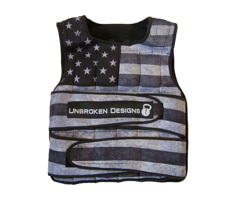 "Gilet con pesi da 18 kg ""Stars And Stripes"""
