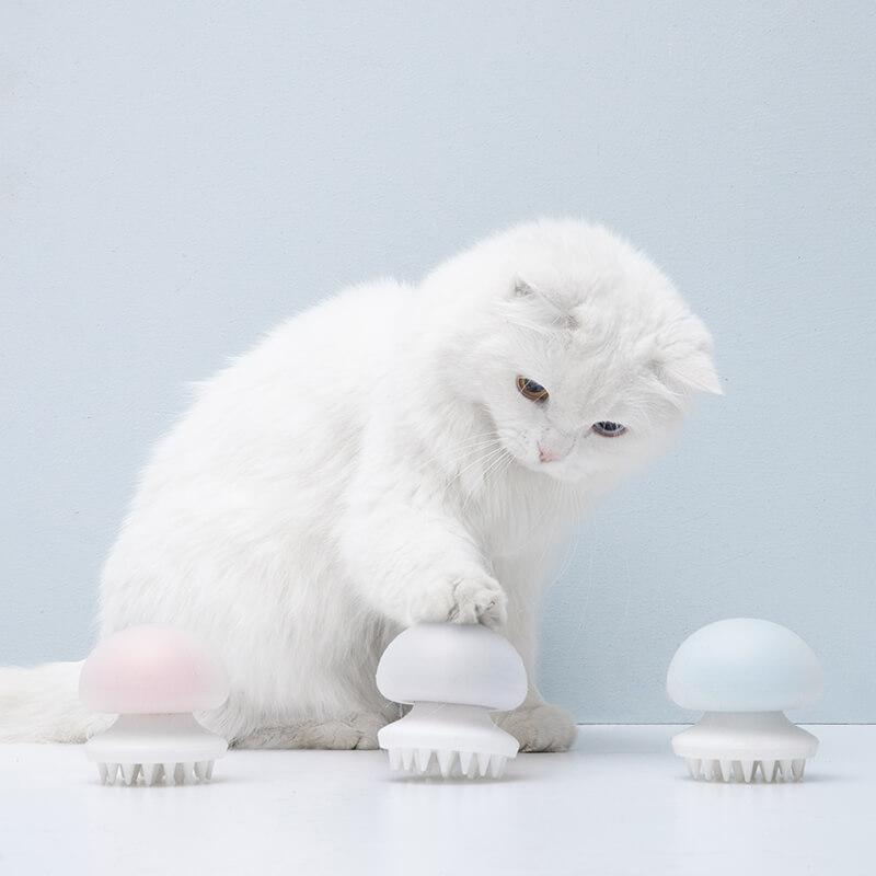 Furrytail Jellyfish Massage Cat Comb Pet Brush