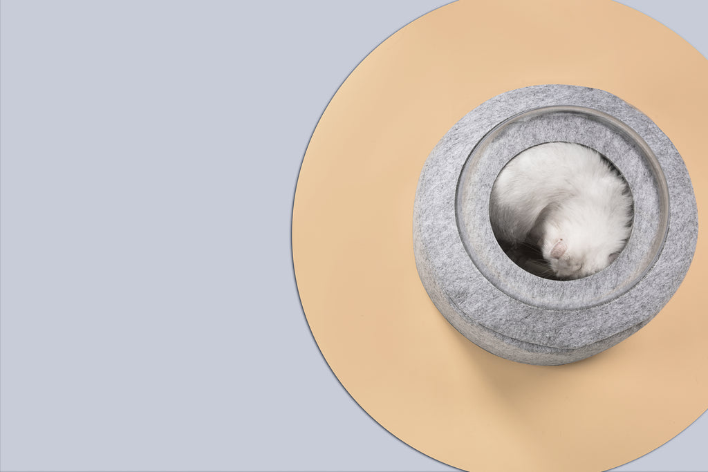 "michupet - Michu ""Space Capsule"" Cat Bed - cat bed"