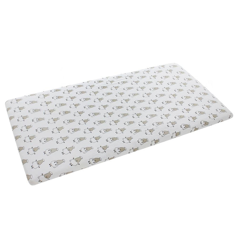 Mattress Sheet White Big Sheepz