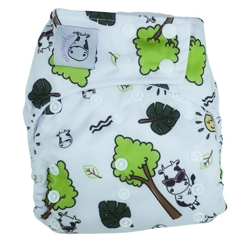 Cloth Diaper One Size Snap - Summer