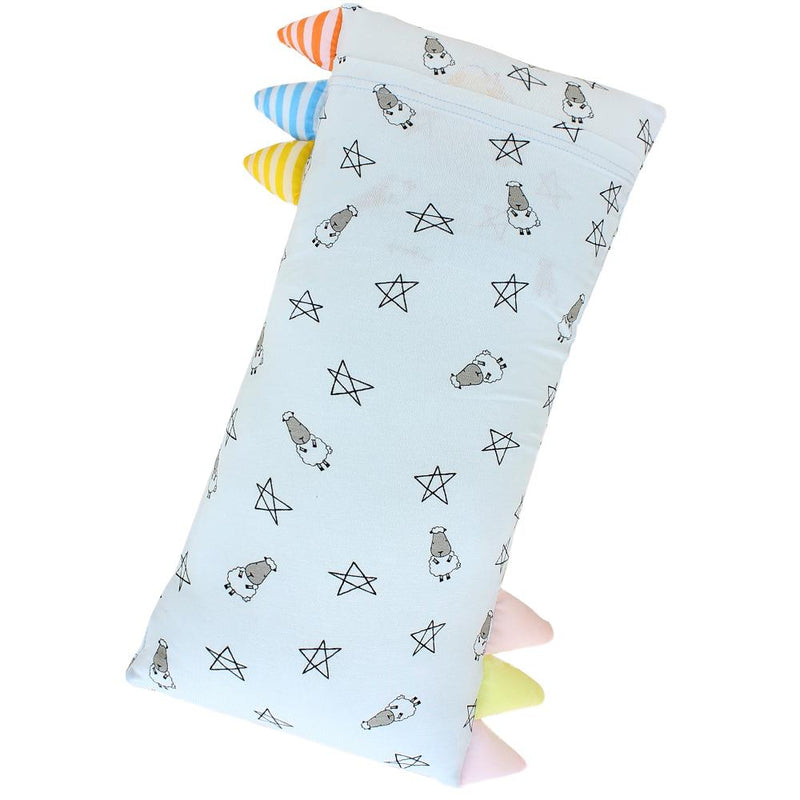 Bed-Time Buddy™ Small Star & Sheepz Blue with Color & Stripe tag - Medium