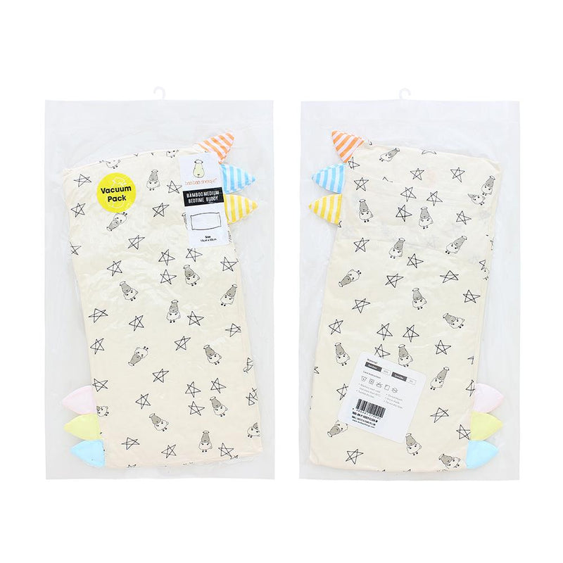 Bed-Time Buddy™ Small Star & Sheepz Yellow with Color & Stripe tag - Medium