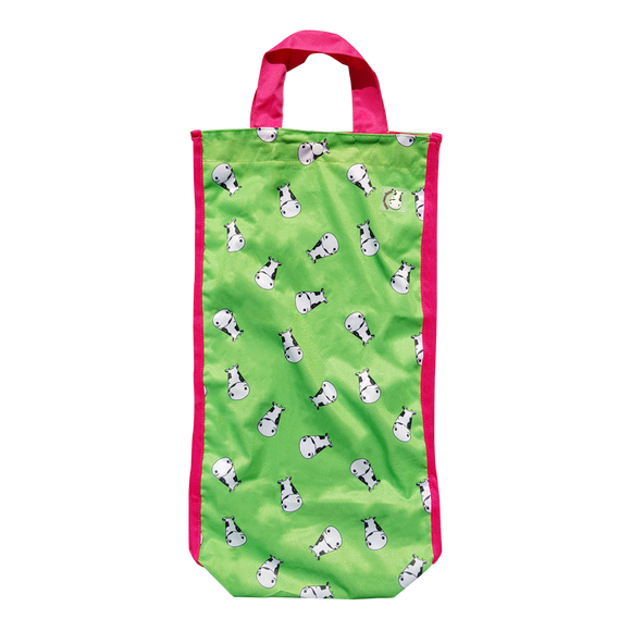 Lucky Bag - Long Tote Bag Lucky Kow Green