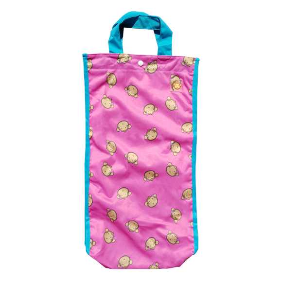 Lucky Bag - Long Tote Bag Lucky Mooky Pink
