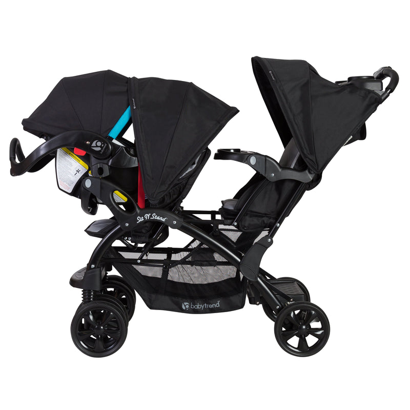 BabyTrend Sit N' Stand® Double Stroller- Moonstruck