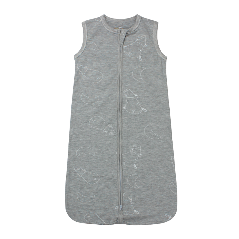Wearable Blanket Zip Big Moon & Sheepz Grey