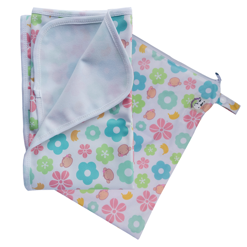 Changing Pad Large Mooky Flower