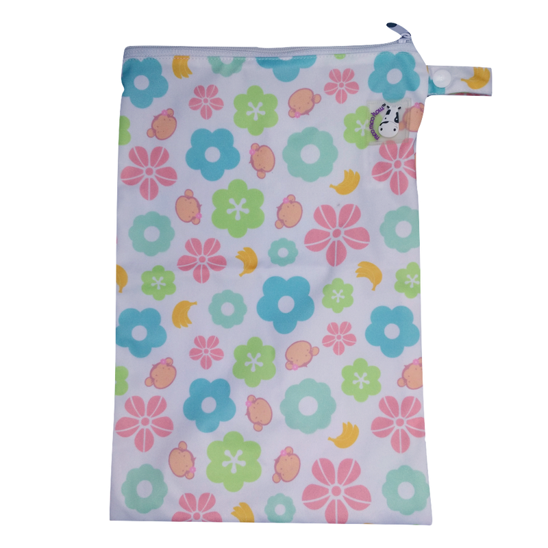 Wet Bag Medium - Mooky Flower
