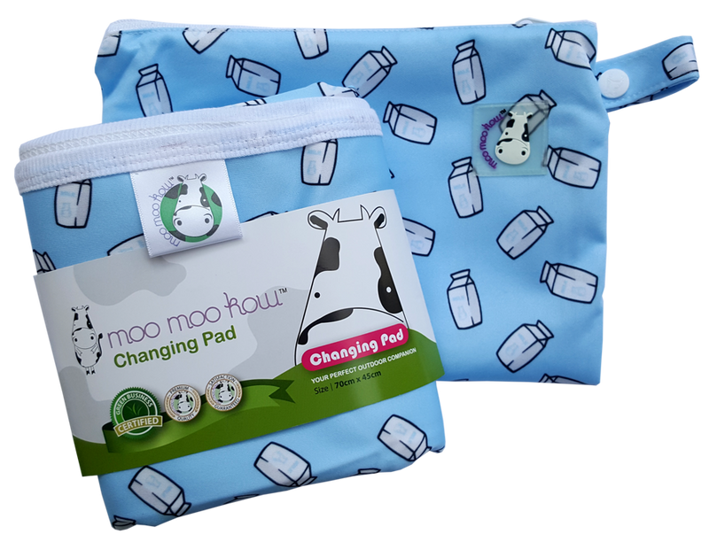 Changing Pad Travel Size Milk Cartons