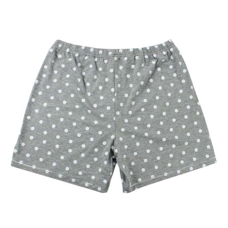 Short Pants Polka Dot Grey