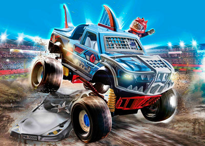 Stunt Show - Shark Monster Truck