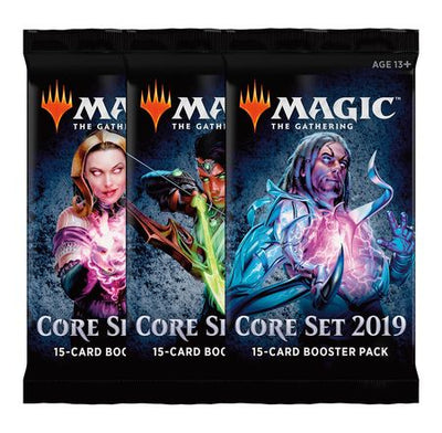 Magic The Gahering Core Set 2019 - Card Booster Pack