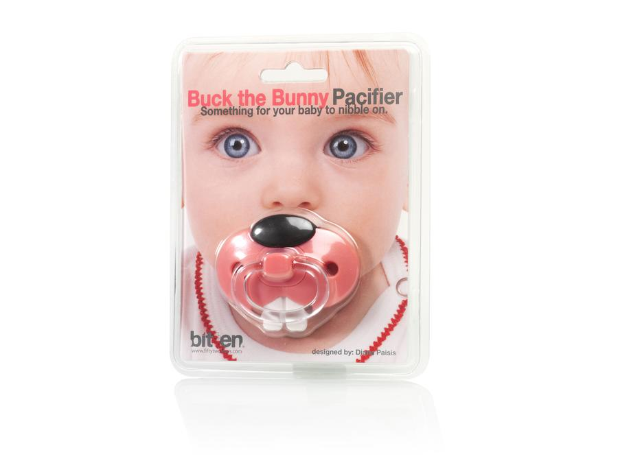 Bunny Pacifier Pink
