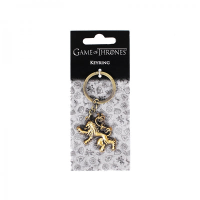 GAME OF THRONES SCULPTED KEYRING - LANNISTER