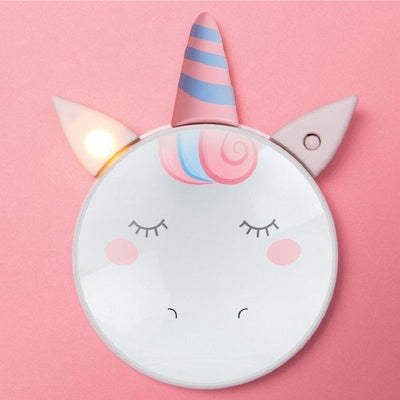 Unicorn Light up Mirror