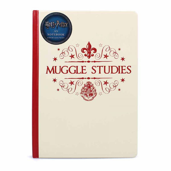 Genuine Harry Potter Muggle Studies A5 Hardback Journal Notebook