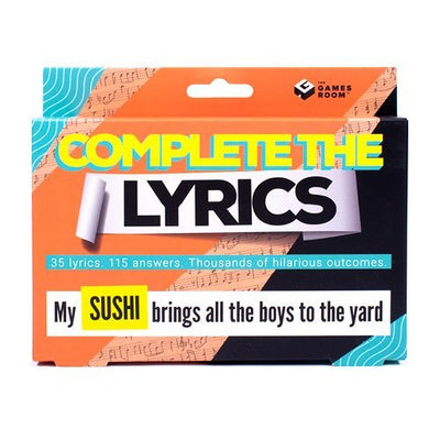 Complete The Lyrics Game - Pre Order