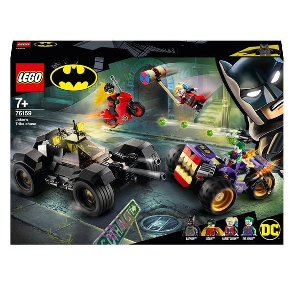 LEGO DC Batman Joker's Trike Chase Batmobile Toy
