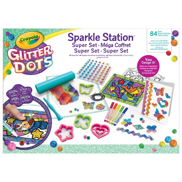 Glitter Dots Sparkle Station Super Set