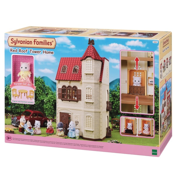 Sylvanian Families Red Roof Tower Gift Set
