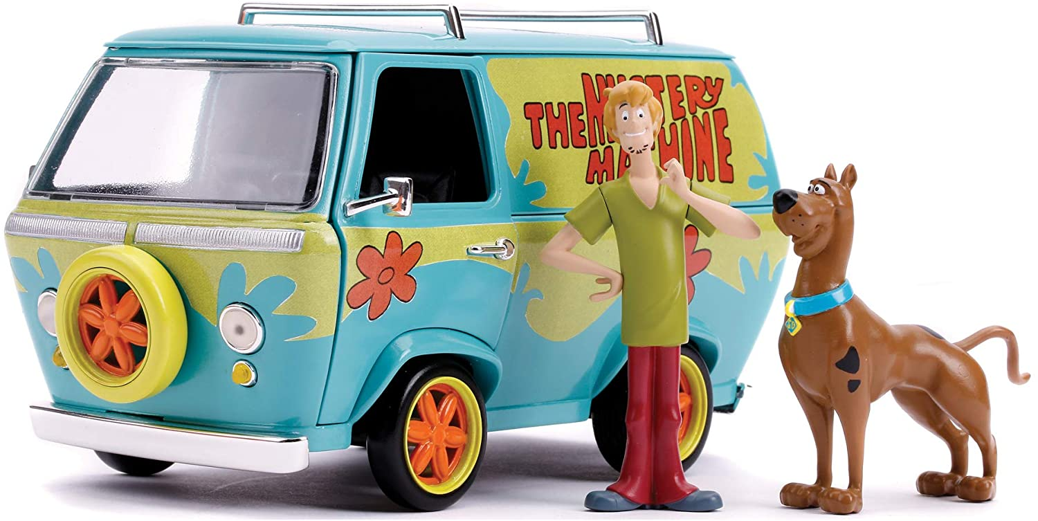 Mystery Machine 1:24 with Scooby and Shaggy