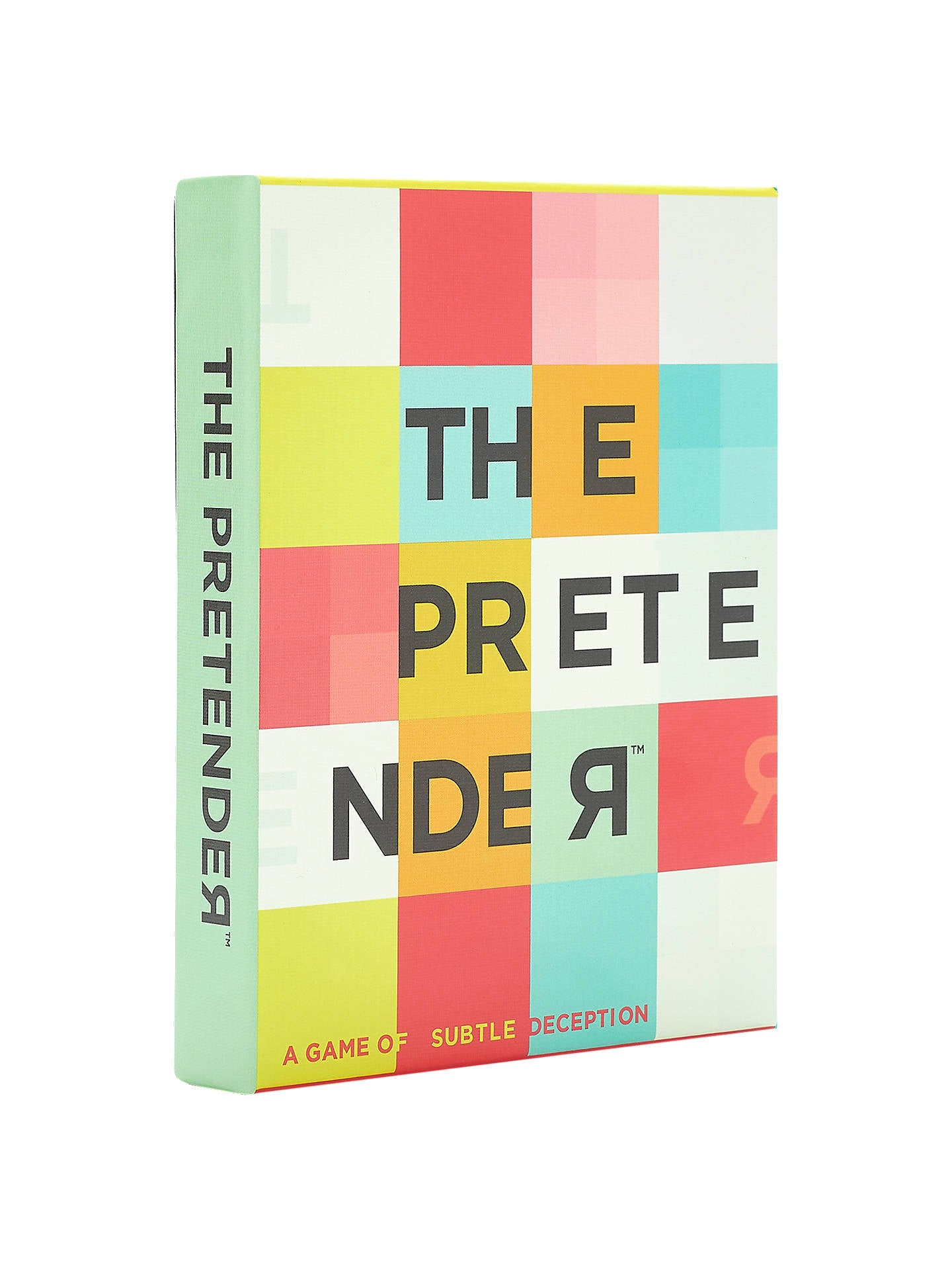 The Pretender: An Amusing Game of Subtle Deception