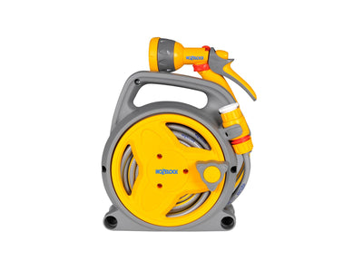 Hozelock Pico Reel with 10m Hose , Fittings & Spray Gun