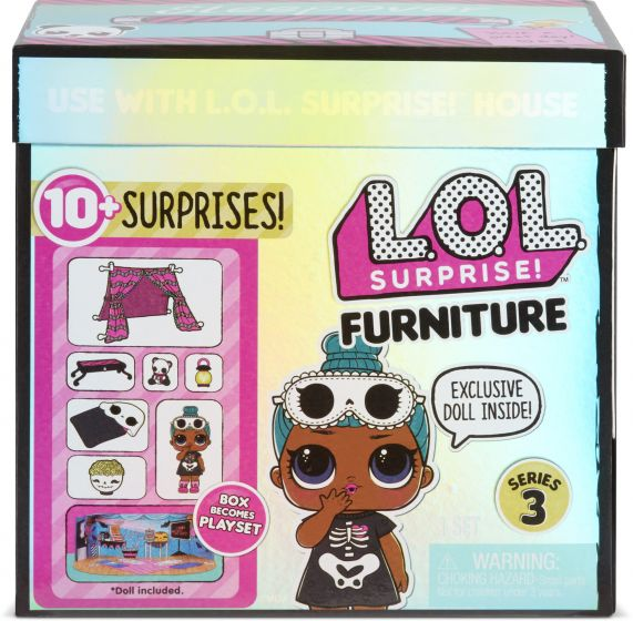 L.O.L Surprise Furniture With Doll Asstd PDQ wv2