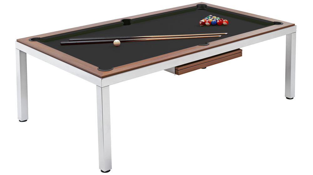 8ft Cube Diner / Slate Bed Pool Table