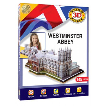 Build It 3D Puzzle - Westminster Abbey