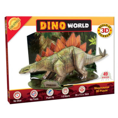 Build It 3D Dinosaur Model - Stegosaurus