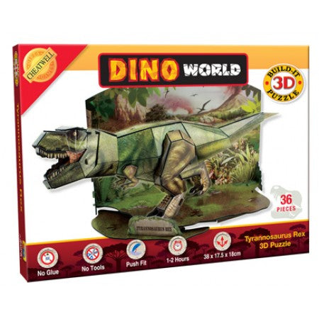 Build It 3D Dinosaur Puzzle - T-Rex