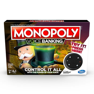 Monopoly Voice Banking Electronic Board Game