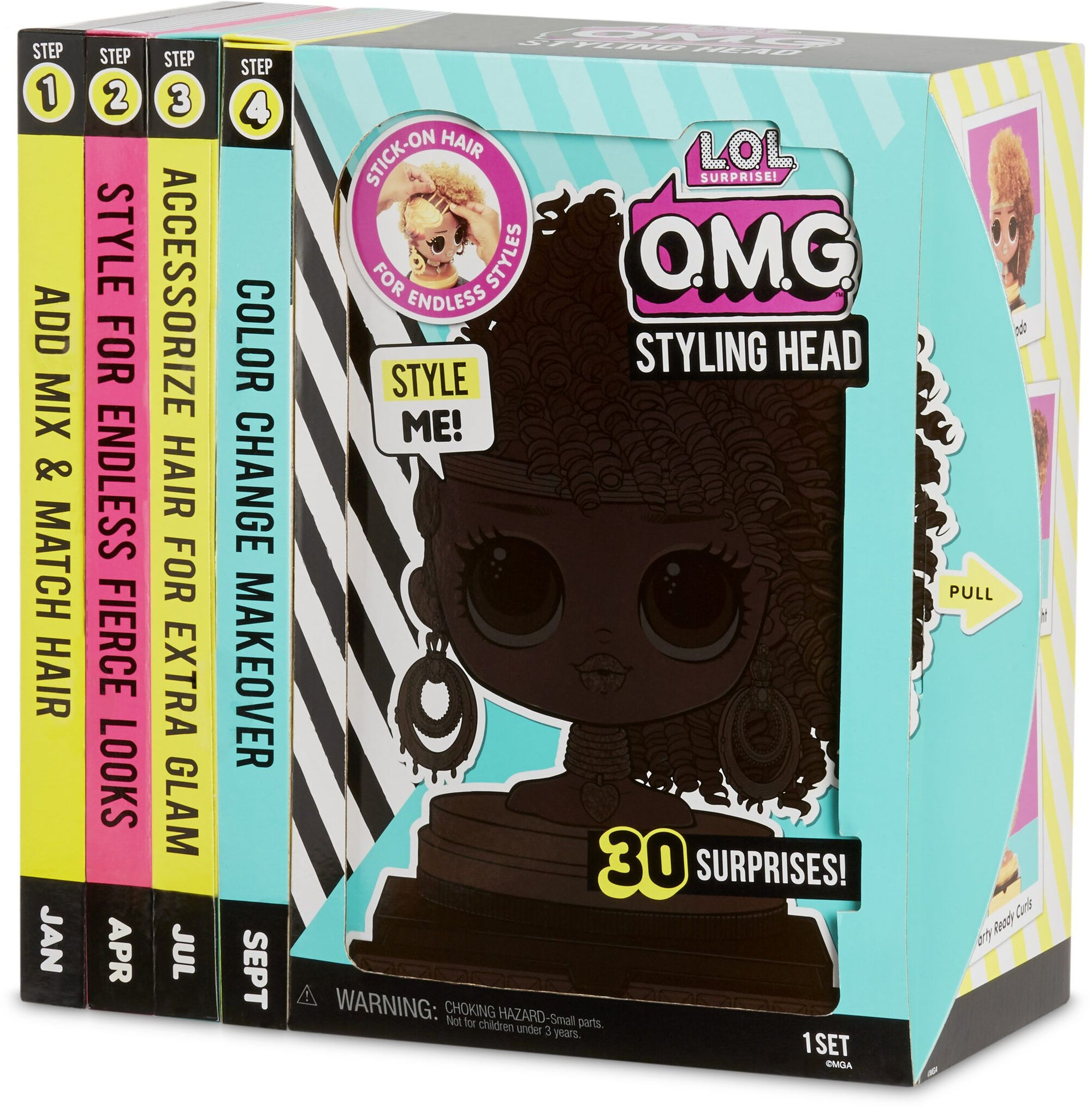 L.O.L. Surprise OMG Styling Head Royal Bee- AA