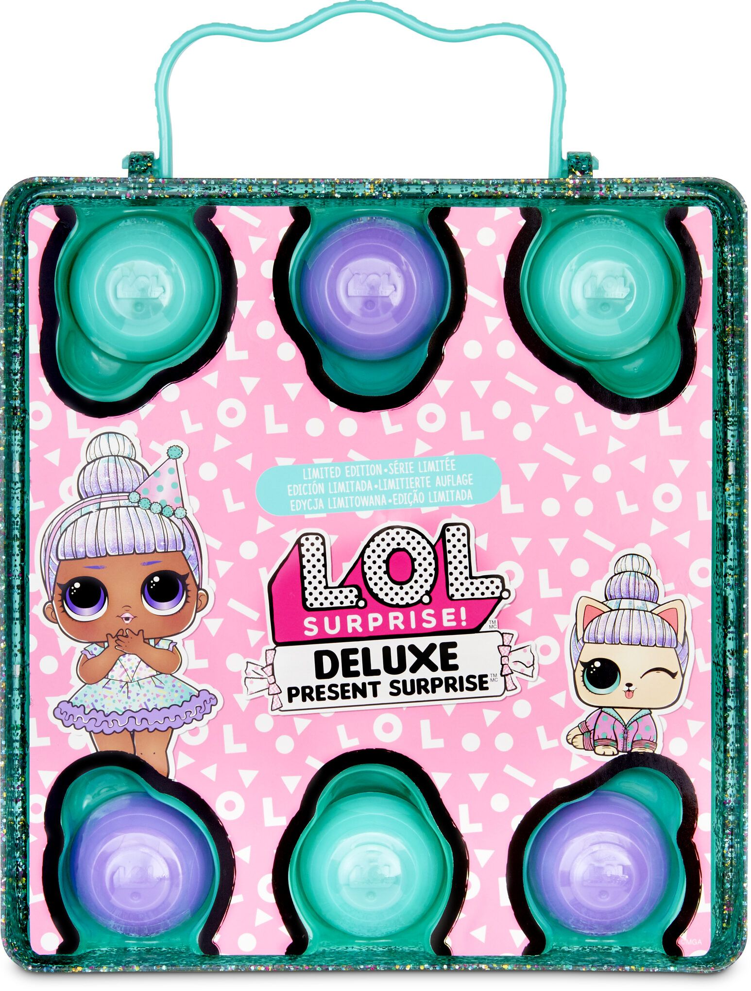 L.O.L. Surprise Deluxe Present Surprise Assorted