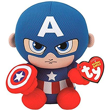 Ty Captain America - Marvel - Beanie